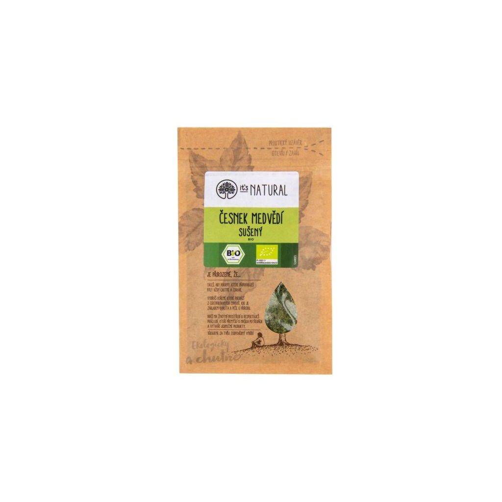 Česnek medvědí sušený 8 g BIO   PĚKNÝ - UNIMEX