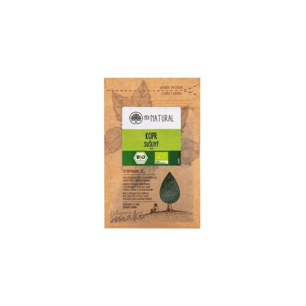 Kopr sušený 5 g BIO   PĚKNÝ - UNIMEX