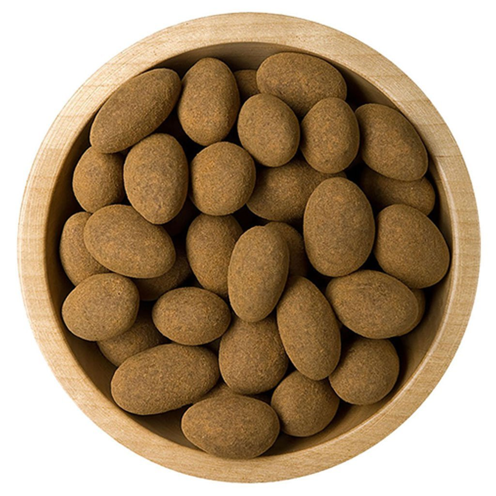 1538 mandle v cokoladove poleve bonnerex sypane skorici