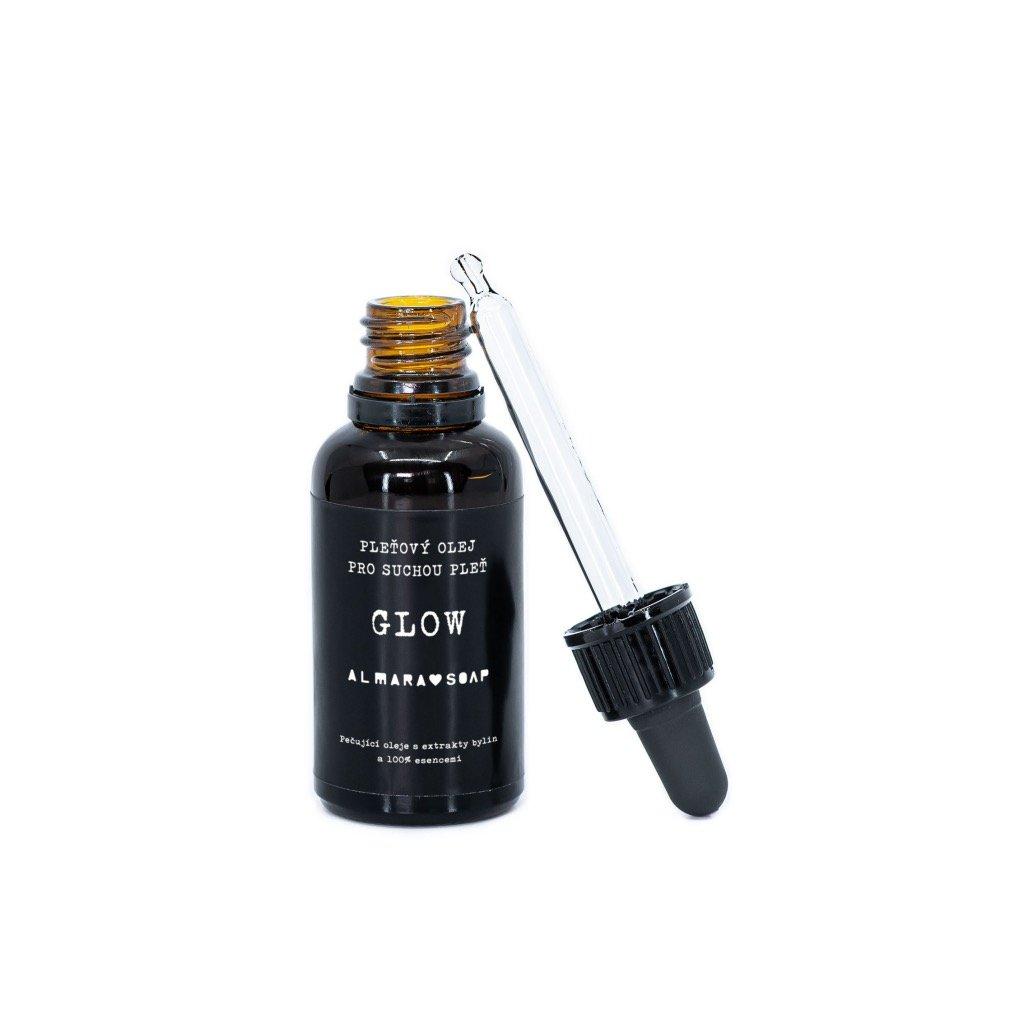 Pleťový olej GLOW 30ml | ALMARASOAP
