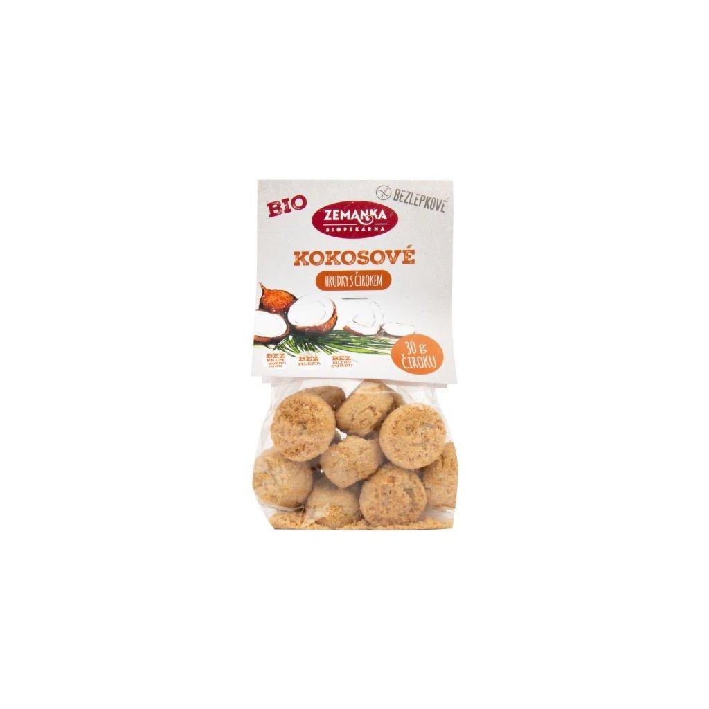 Sušenky kokosové s čirokem bezlepkové 100 g BIO ZEMANKA