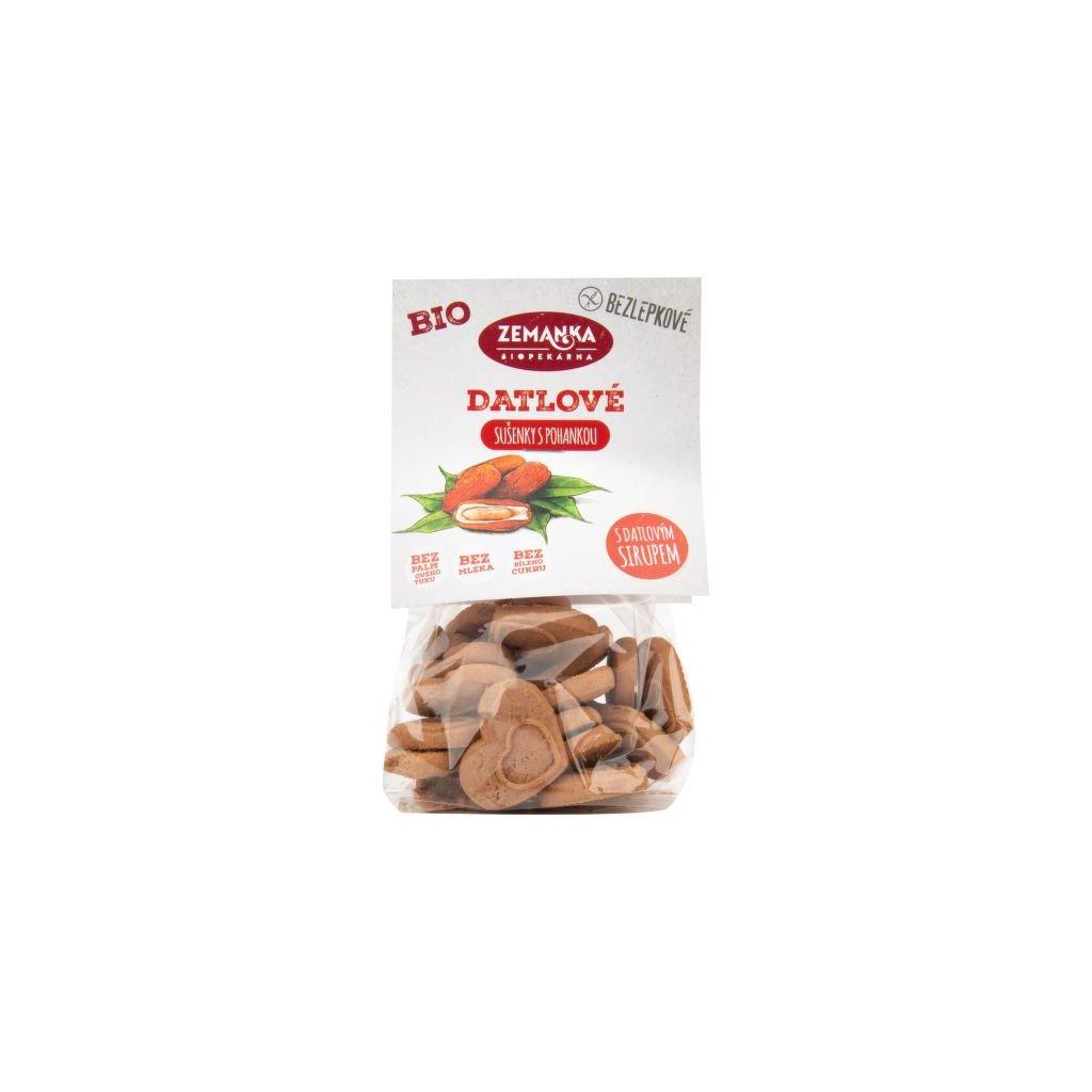 Sušenky pohankovo - datlové bezlepkové 100 g BIO ZEMANKA
