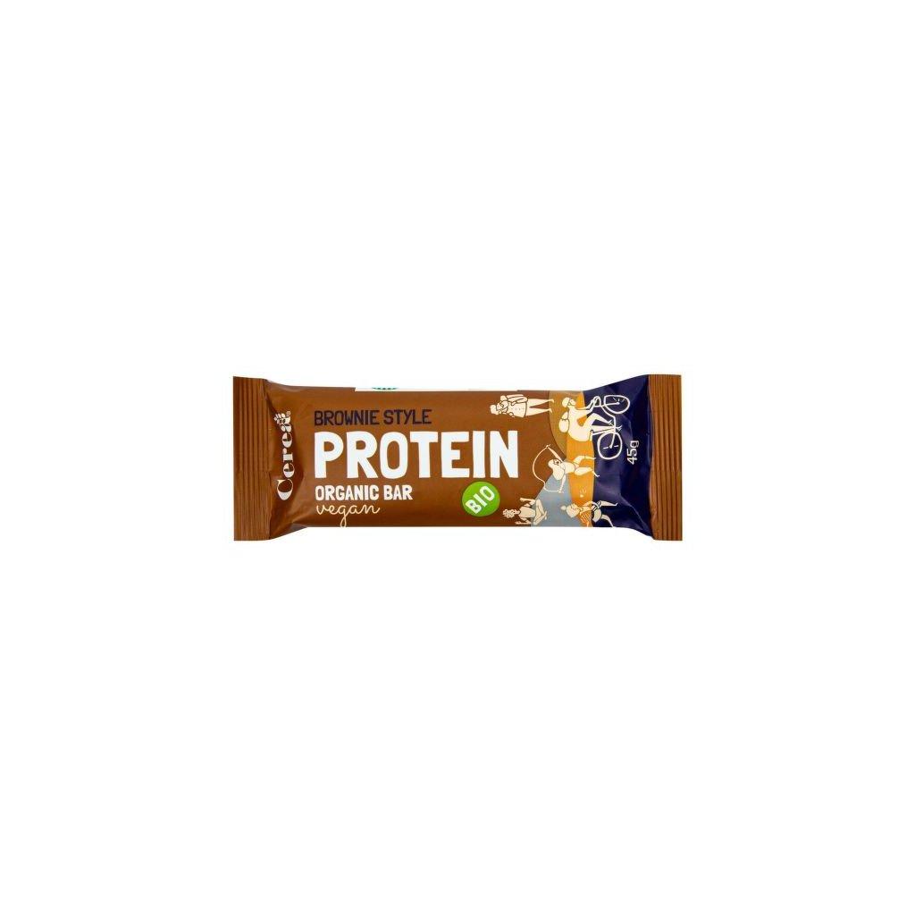 Tyčinka Protein Bar brownie 45 g    COUNTRYLIFE