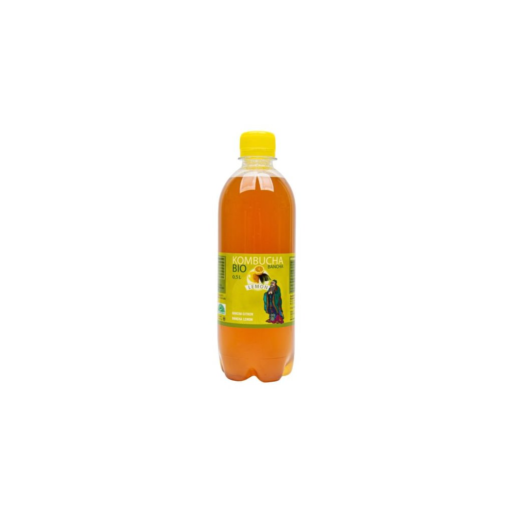 Kombucha bancha citron 500 ml BIO STEVIKOM | COUNTRY LIFE