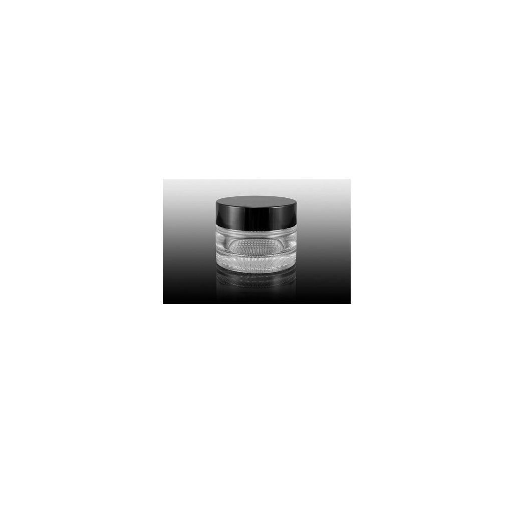 Skleněný kelímek čiré sklo 15ml