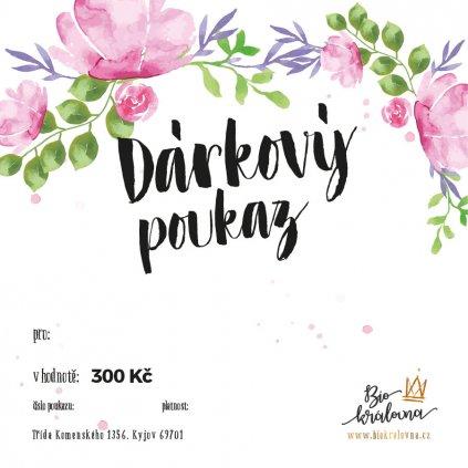 darkovy poukaz 300kc