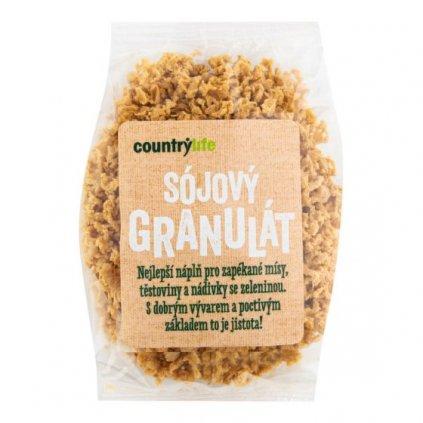 Sojový granulát 100g | COUNTRY LIFE