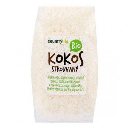 Kokos strouhaný 200 g BIO | COUNTRY LIFE