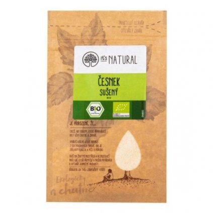 Česnek sušený 15 g BIO | PĚKNÝ - UNIMEX