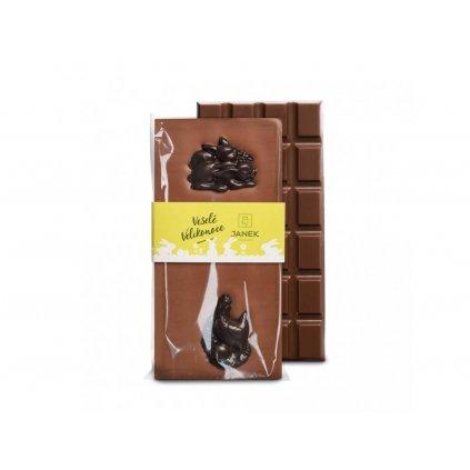 119 2 tabulka mlecne cokolady s velikonocnimi postavickami cokoladovna janek jpg