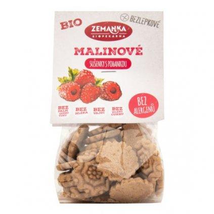 Sušenky pohankovo - malinové bezlepkové 100 g BIO ZEMANKA