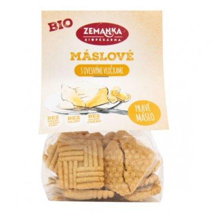 Máslové sušenky s ovesnými vločkami | BIO ZEMANKA
