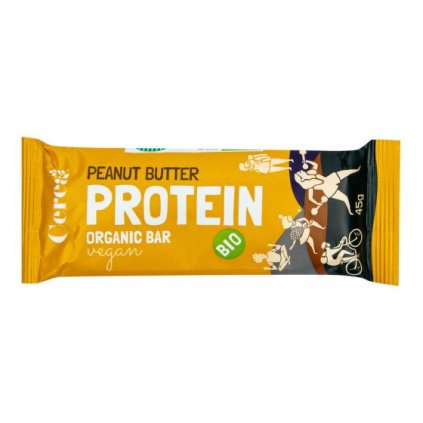 Proteinová tyčinka arašídová 45g | COUNTRYLIFE