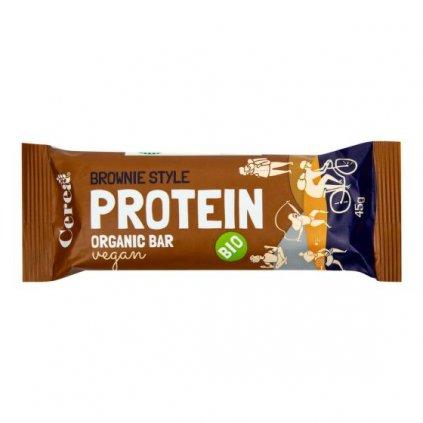 Tyčinka Protein Bar brownie 45 g  | COUNTRYLIFE