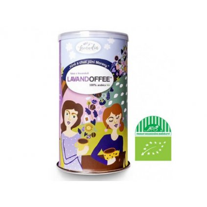 5204 levandia bio lavandoffee kava s levanduli 100 arabica 150g