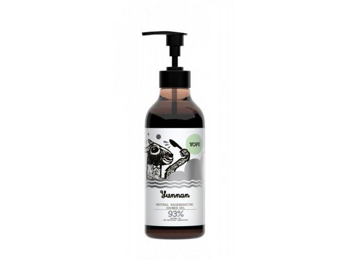 Yope Regenerační sprchový gel - yunnan (400 ml) - z 93 % z přírodních surovin