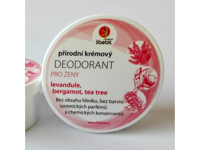 Libebit-deodorant pro ženy levandule, bergamot a tea tree 15ml