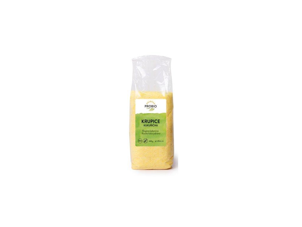 Krupice kukuřičná BIO 450g, Probio