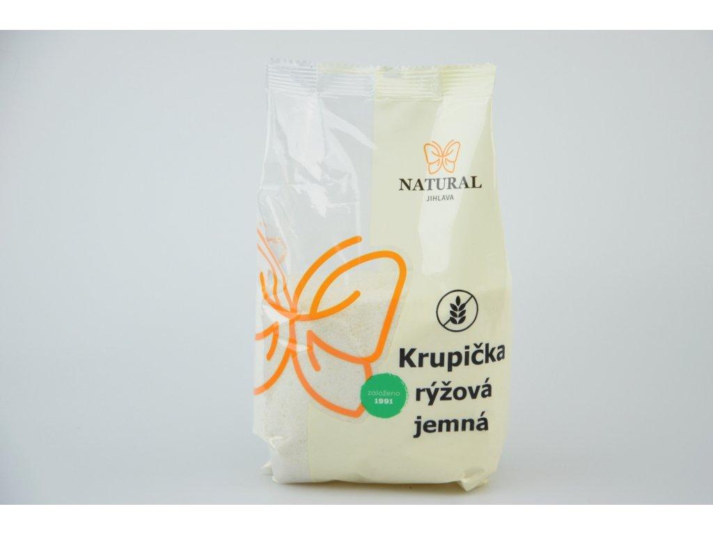 125 1 krupicka ryzova jemna 500g natural jihlava