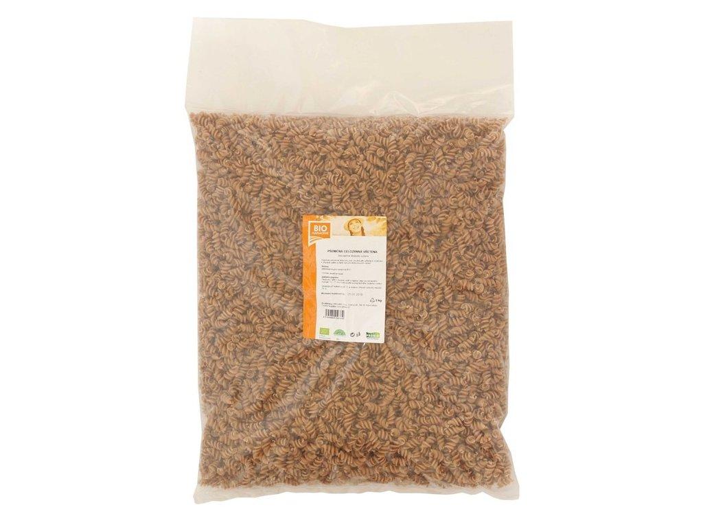 Vřetena pšeničná celozrnná BIO 3kg, Bioharmonie