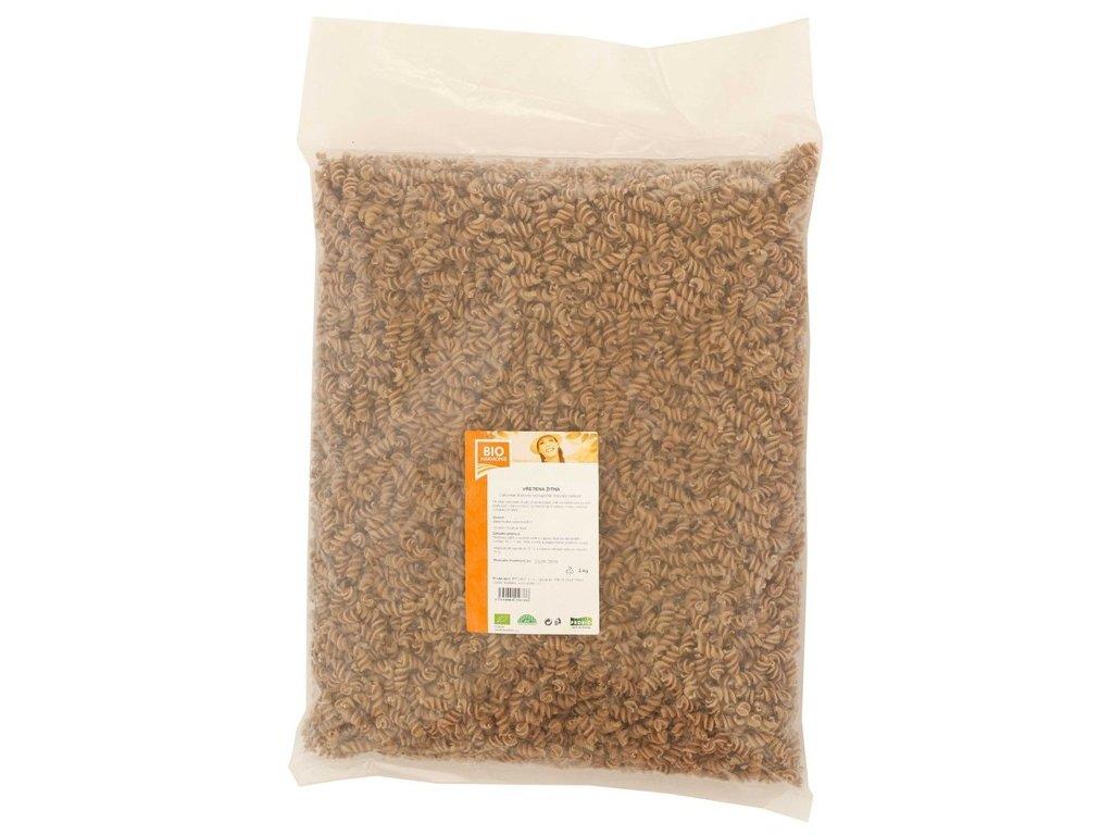 Vřetena žitná celozrnná BIO 3kg, Bioharmonie
