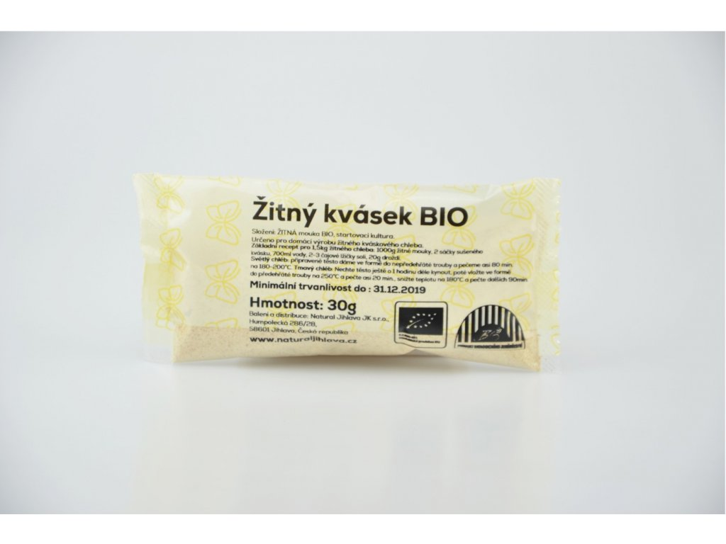 647 1 zitny kvasek bio 30g natural jihlava
