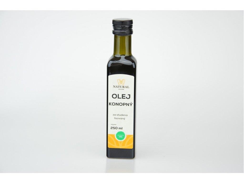 692 1 olej konopny panensky 250ml natural jihlava