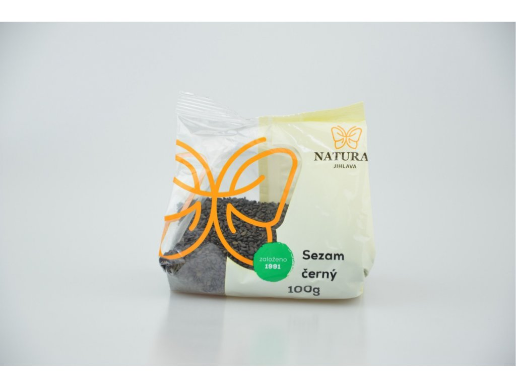 869 1 sezam cerny 100g natural jihlava