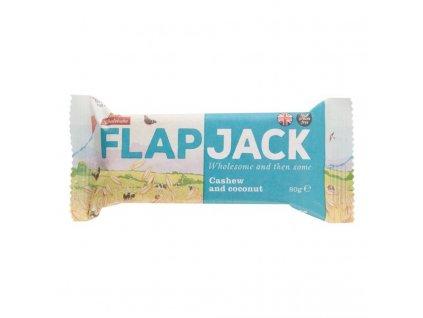 Flapjack ovesný bezlepkový kešu-kokos 80g, Wholebake