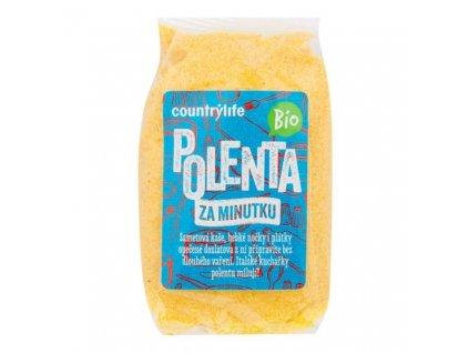 "*Polenta ""1 min."" BIO 400g, Country Life (MDT 23.10.2021)"