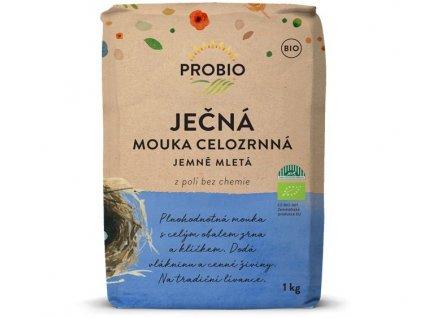 *Mouka ječná celozrnná jemná BIO 1kg, Probio (MDT 26.9.2021)