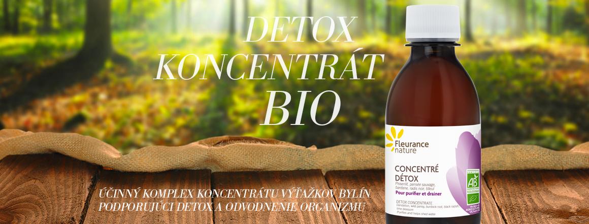 Detox koncentrát Fleurance nature