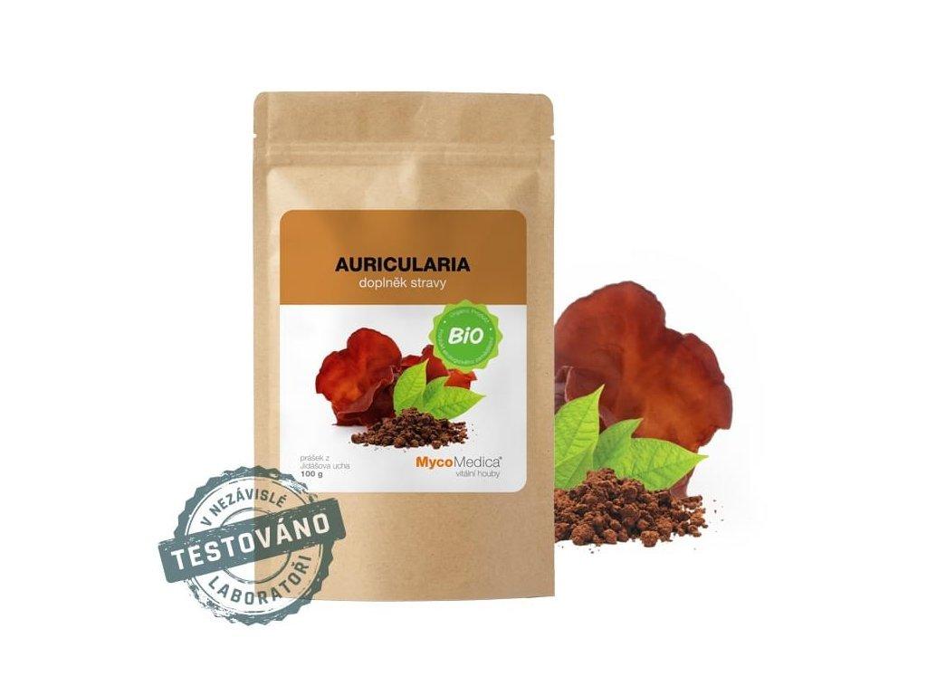 bio auricularia prasek mycomedica biolifeplus
