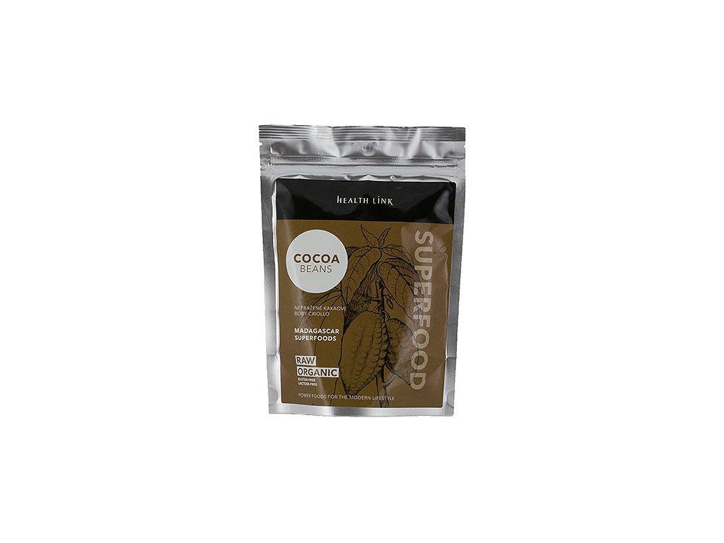 Kakaové bôby drvené bio raw 250 g
