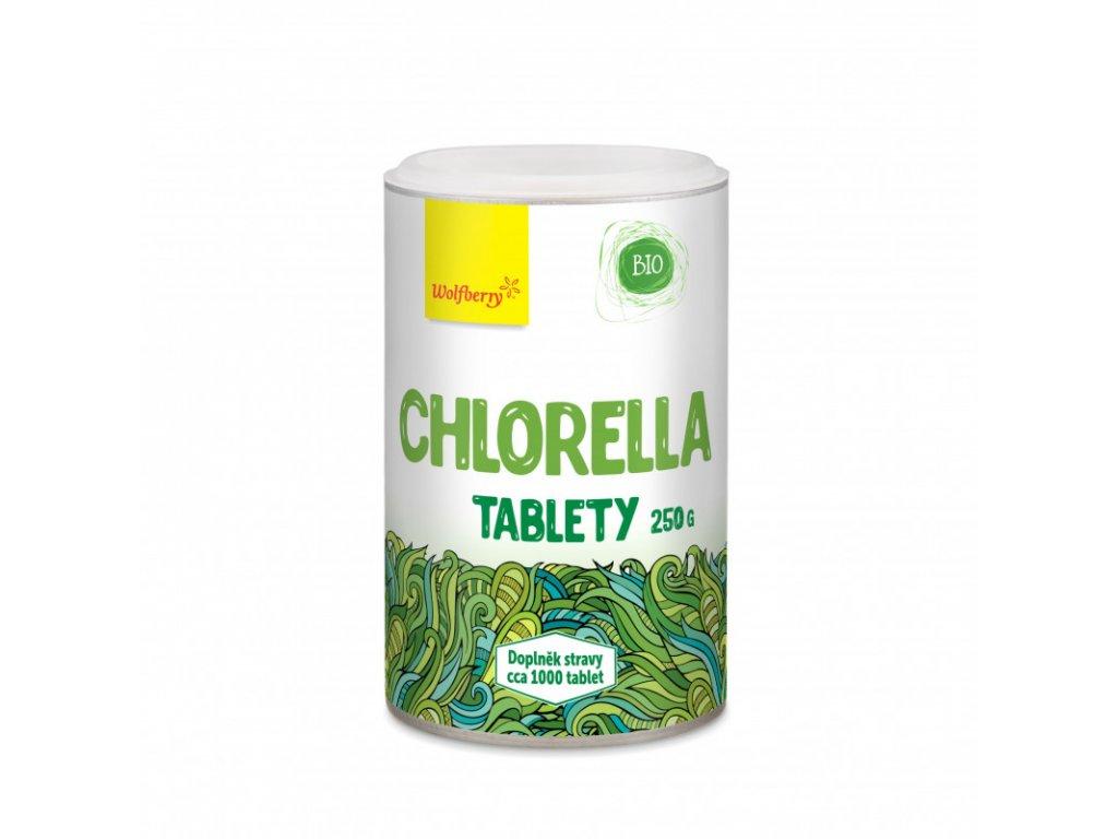 chlorella tablety wolfberry biolinka 250g