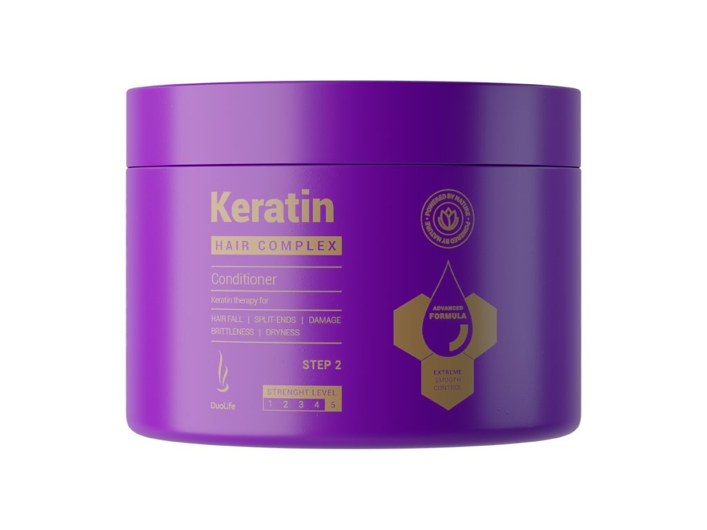 duolife keratin hair complex advanced formula conditioner 200 ml biolinka