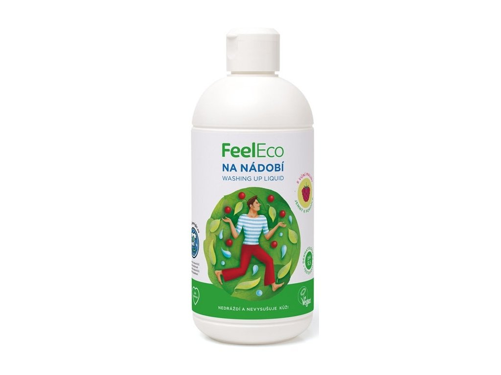 umyvanie riadu feel eco malina 1l