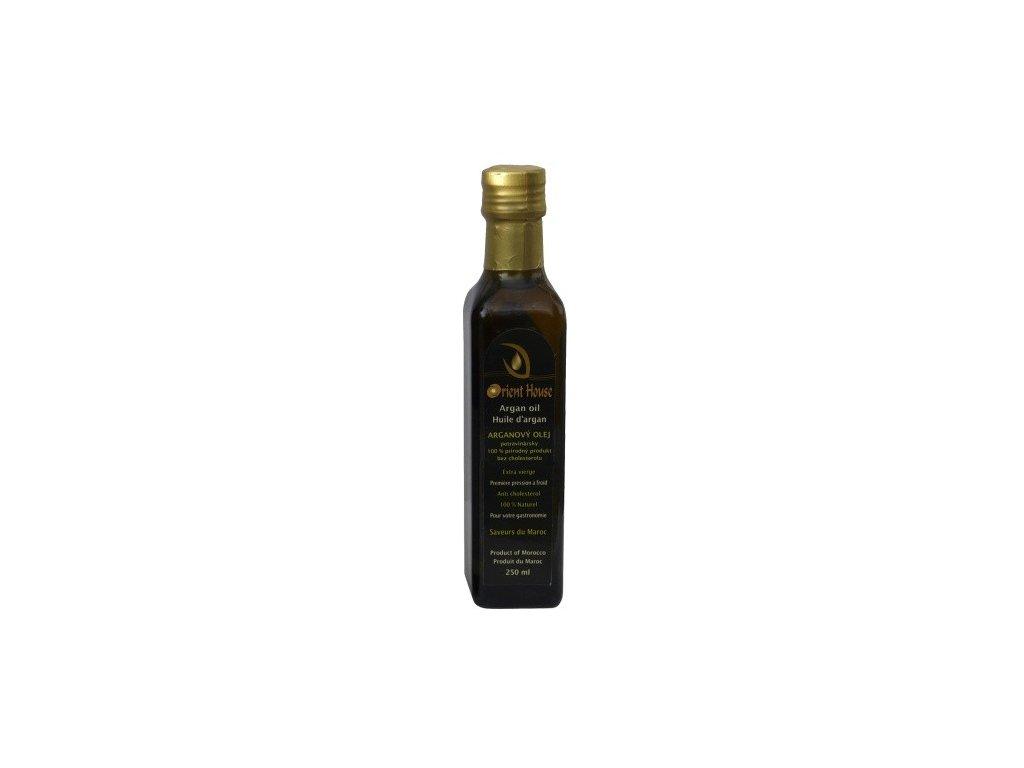 arganovy olej bio extra panensky potravinarsky 250ml