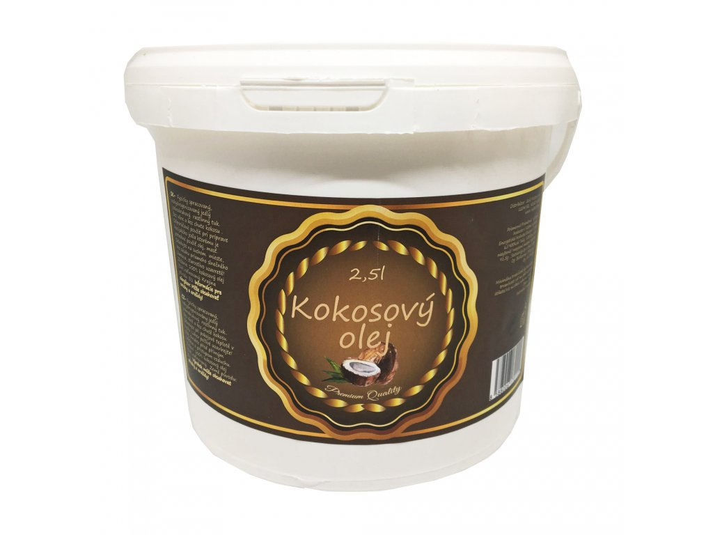 Kokosový olej na varenie 2500 ml