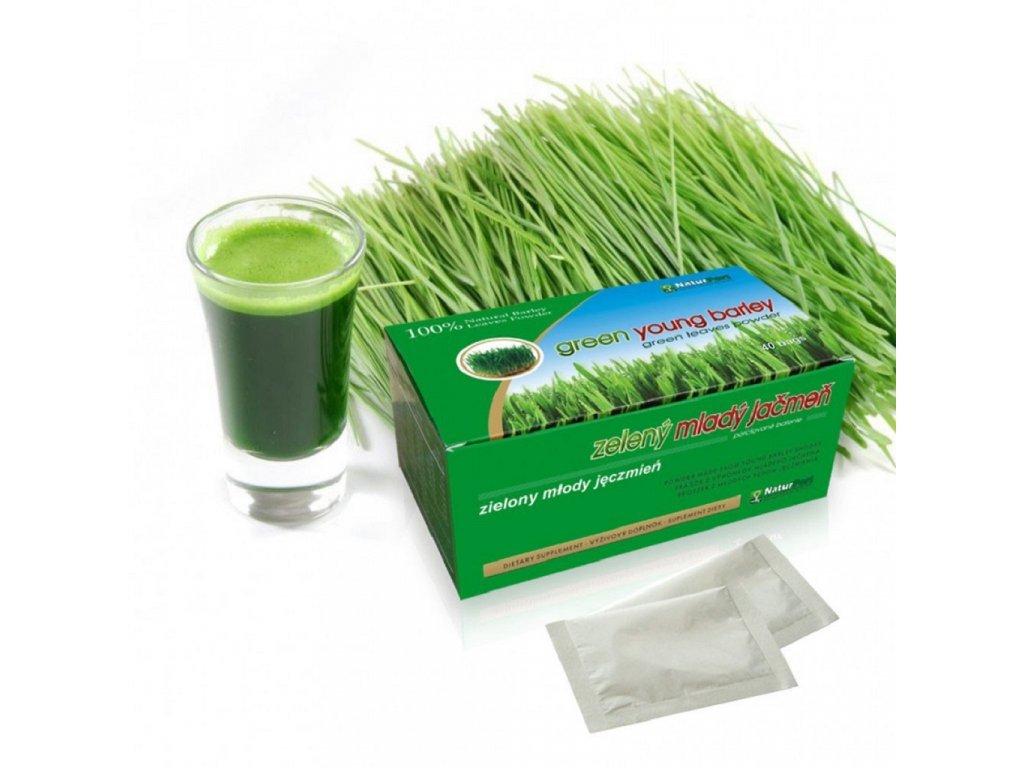 Jačmeň mladý zelený mletý 200 g