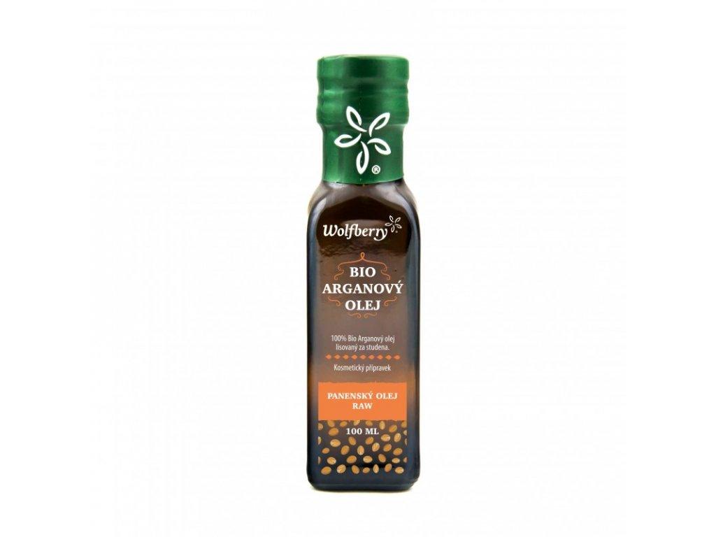Arganový olej bio panenský raw 100 ml