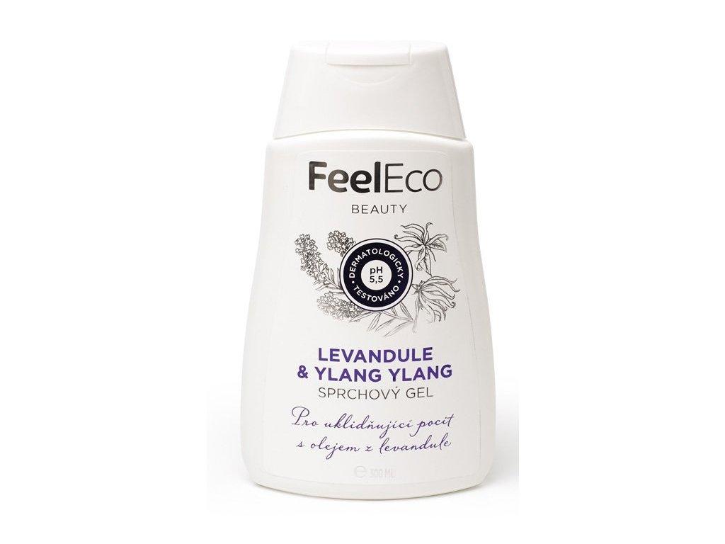 sprchovy gel feel eco olej levandule 300ml
