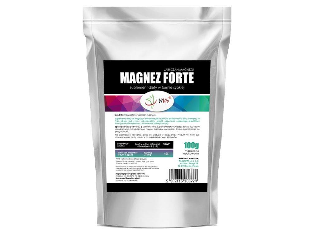 Magnézium malát forte prášok 100 g