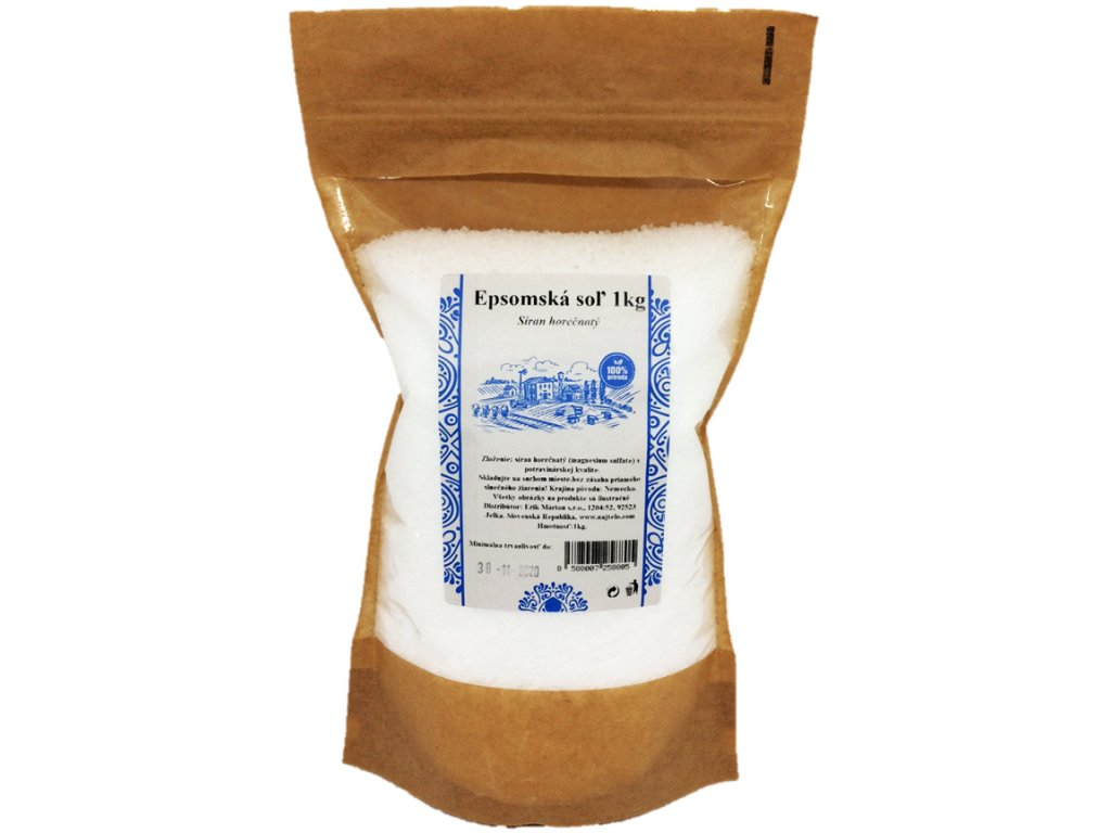 Soľ epsomská 1 kg