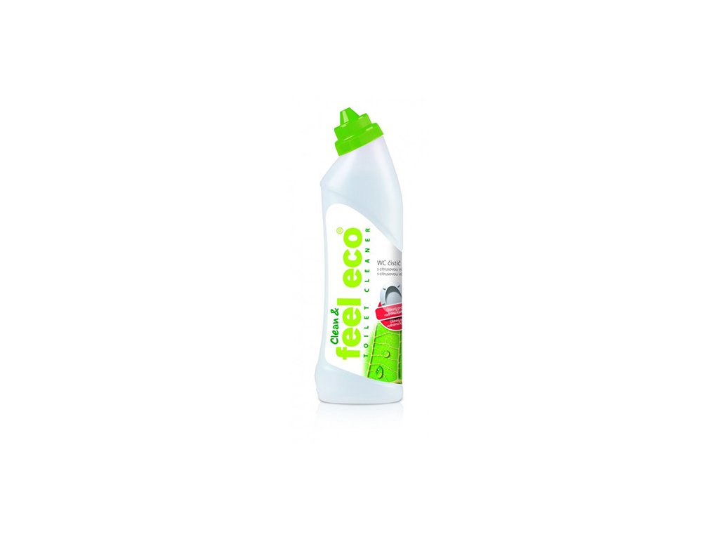 WC čistič s citrusovou vôňou Feel Eco 750 ml