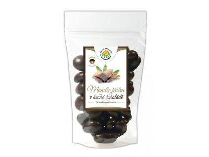 mandle v cokolade biolinka