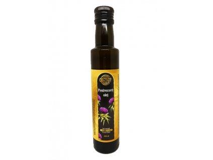 Ostropestrecový olej lisovaný za studena 250 ml