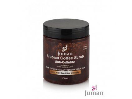 telovy peeling mineraly mrtve more kava arabica arganovy olej