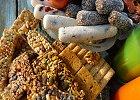 Ovocné tyčinky a konfety