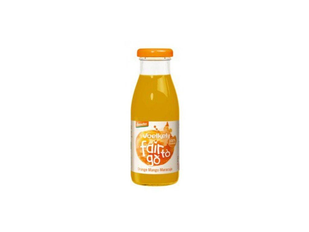 6 x Voelkel  Bio Džus Pomeranč, Mango a Maracuja, 0,25l